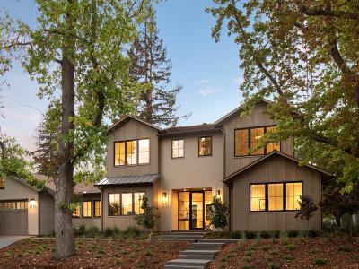 MENLO PARK Single Family Home For Sale: 1790 Bay Laurel Dr