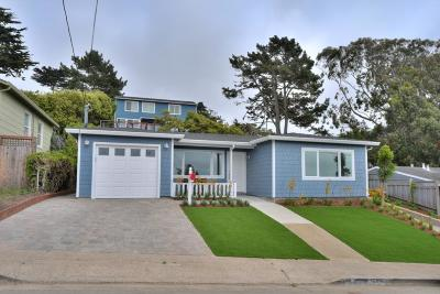Pacifica Single Family Home For Sale: 543 Vista Mar Ave