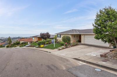Burlingame Single Family Home For Sale: 2845 Frontera Way