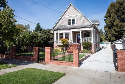 BURLINGAME Single Family Home For Sale: 1600 Forest View Ave