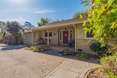 Santa Cruz Single Family Home For Sale: 423 Park Way