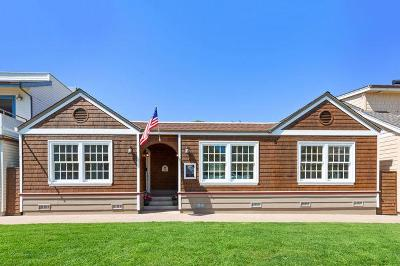 Capitola Single Family Home For Sale: 114-116 Lawn Way