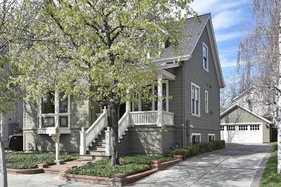 LOS GATOS Single Family Home For Sale: 117 Edelen Ave