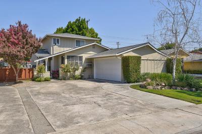 SANTA CLARA Single Family Home For Sale: 2155 San Rafael Ave
