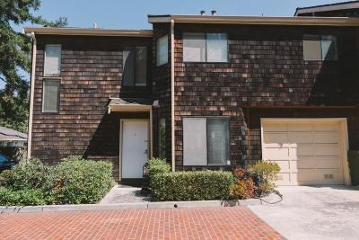 Cupertino, Sunnyvale Townhouse For Sale: 1694 Nighthawk Ter