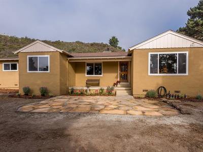 HALF MOON BAY CA Single Family Home For Sale: $1,395,000