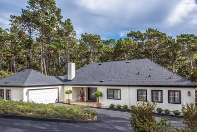 Pebble Beach Single Family Home For Sale: 1642 Sonado Rd