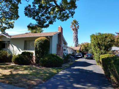 REDWOOD CITY Multi Family Home For Sale: 1648 Palm Ave