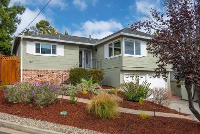 San Carlos Single Family Home For Sale: 153 Fairbanks Ave