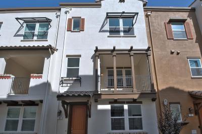 SAN JOSE Townhouse For Sale: 2731 Viterbo Ct 6