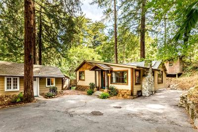SCOTTS VALLEY Single Family Home For Sale: 525 Bethany Dr