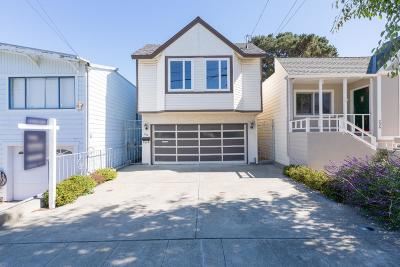 SAN BRUNO Single Family Home Contingent: 240 Milton Ave