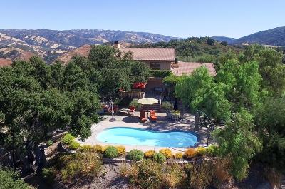 Carmel Valley Single Family Home For Sale: 21575 Parrott Ranch Rd