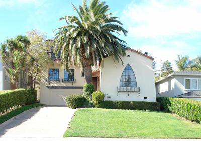 SAN MATEO CA Single Family Home For Sale: $2,895,000