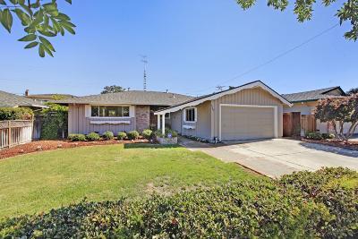 Sunnyvale Single Family Home For Sale: 1564 Quail Ave
