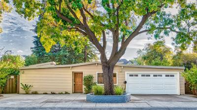 PALO ALTO Single Family Home For Sale: 2146 Louis Rd