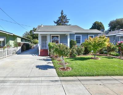 SAN JOSE Single Family Home For Sale: 392 Menker Ave