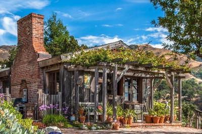 Big Sur Single Family Home For Sale: 14 Upper Coastlands