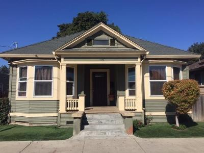 Santa Cruz County Single Family Home For Sale: 115 Grant St