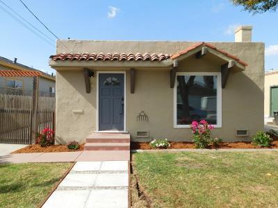 SALINAS Single Family Home For Sale: 50 Villa St