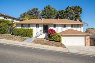 SAN MATEO CA Single Family Home For Sale: $1,675,000