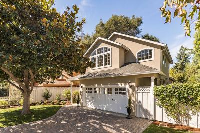 ATHERTON CA Single Family Home For Sale: $2,488,000