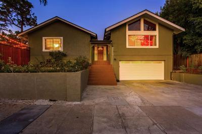 REDWOOD CITY Single Family Home For Sale: 507 Quartz St