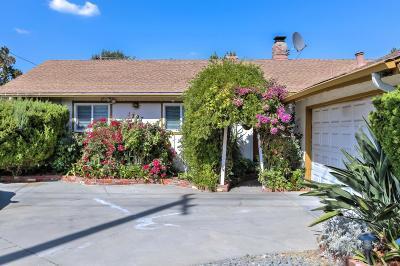 SAN JOSE Single Family Home For Sale: 1797 Branham Ln