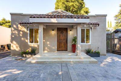 Palo Alto Single Family Home For Sale: 961 Channing Ave