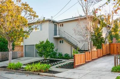 BURLINGAME Multi Family Home For Sale: 909 Capuchino Ave