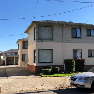 MILLBRAE Multi Family Home For Sale: 157 Capuchino Dr