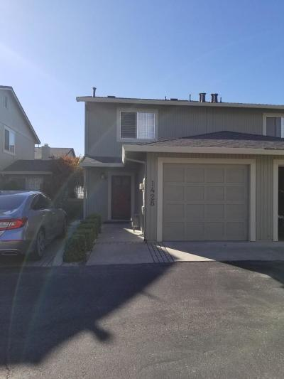 HOLLISTER Townhouse For Sale: 1428 Rancho Dr