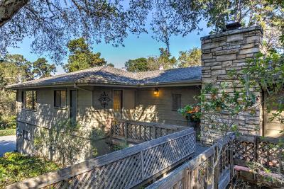 Monterey Single Family Home For Sale: 1301 Jacks Rd