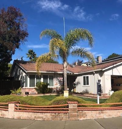 SAN JOSE Single Family Home For Sale: 3557 Estate View Ct