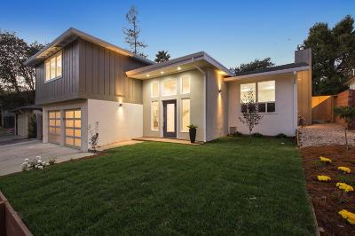 REDWOOD CITY Single Family Home For Sale: 2502 McGarvey Ave