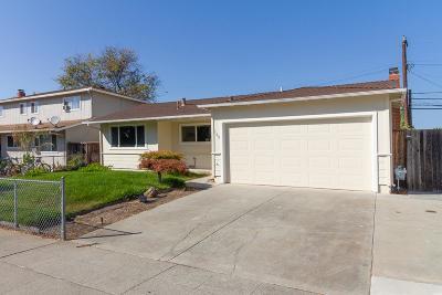 MILPITAS Single Family Home For Sale: 149 Washington Dr