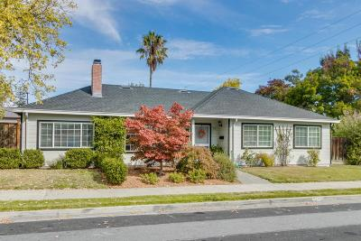 Redwood City Single Family Home For Sale: 753 Topaz St