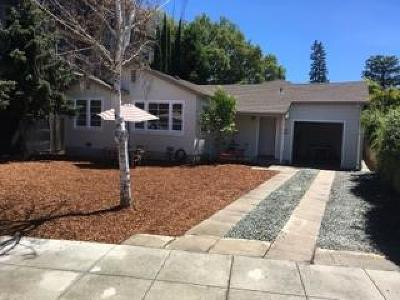 SAN CARLOS Single Family Home For Sale: 926 Laurel St