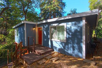 BOULDER CREEK Single Family Home For Sale: 370 Ridge Dr