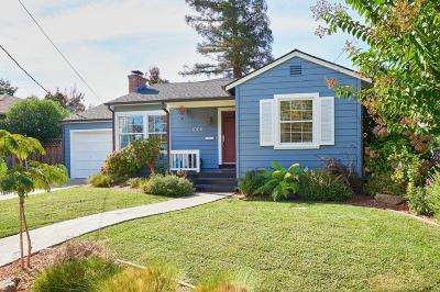 Redwood City Single Family Home For Sale: 1006 King St