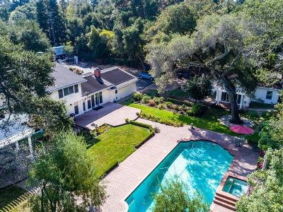 ATHERTON CA Single Family Home Contingent: $6,250,000
