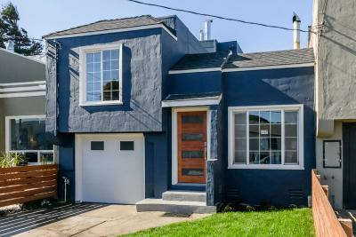 SOUTH SAN FRANCISCO Single Family Home For Sale: 112 A St