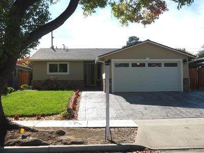 Cupertino Single Family Home For Sale: 1111 Kentwood Ave