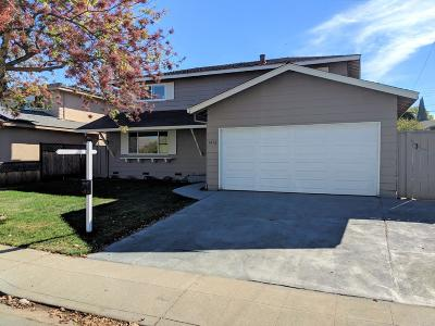MILPITAS Single Family Home For Sale: 1456 Glacier Dr