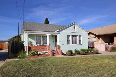 WATSONVILLE Single Family Home For Sale: 457 E Lake Ave