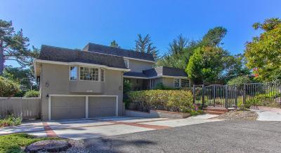 Pebble Beach Single Family Home For Sale: 4138 El Bosque Dr