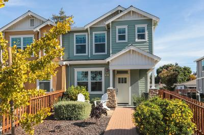 Mountain View Townhouse For Sale: 571 Piazza Dr