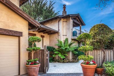 Carmel Single Family Home For Sale: 2730 Santa Lucia Ave
