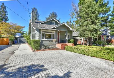 LOS GATOS Single Family Home For Sale: 249 Los Gatos Blvd