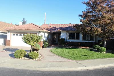 Santa Clara Single Family Home For Sale: 661 Briarcliff Ct